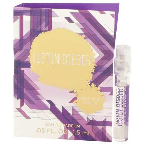 Justin Bieber Collector's Edition by Justin Bieber Vial (Sample) .05 oz (Women)