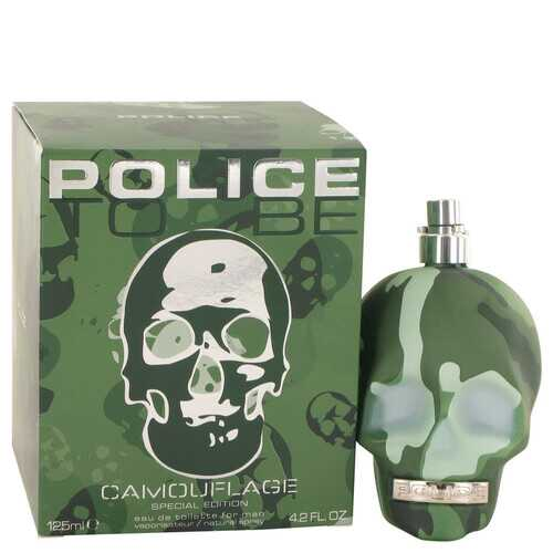 Police To Be Camouflage by Police Colognes Eau De Toilette Spray (Special Edition) 4.2 oz (Men)