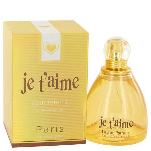 Je T'aime by YZY Perfume Eau De Parfum Spray 3.3 oz (Women)