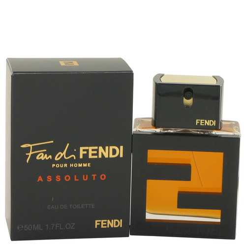 Fan Di Fendi Assoluto by Fendi Eau De Toilette Spray 1.7 oz (Men)