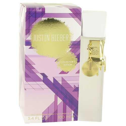 Justin Bieber Collector's Edition by Justin Bieber Eau De Parfum Spray 3.4 oz (Women)