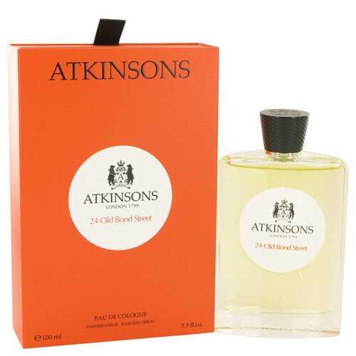 24 Old Bond Street by Atkinsons Eau De Cologne Spray 3.3 oz (Men)