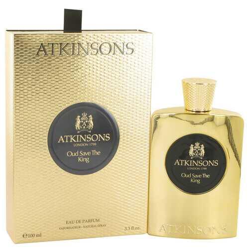 Oud Save The King by Atkinsons Eau De Parfum Spray 3.3 oz (Men)