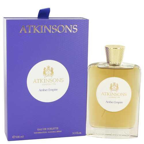 Amber Empire by Atkinsons Eau De Toilette Spray 3.3 oz (Women)