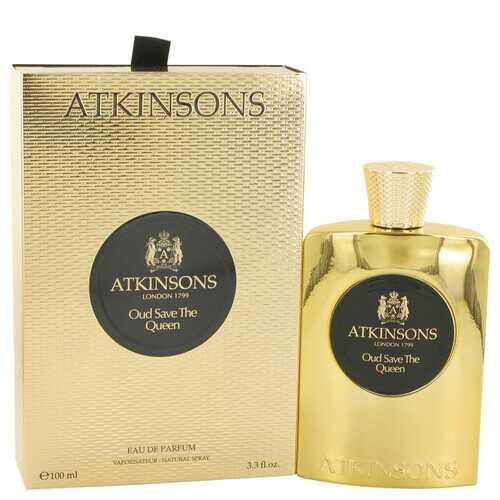 Oud Save The Queen by Atkinsons Eau De Parfum Spray 3.3 oz (Women)