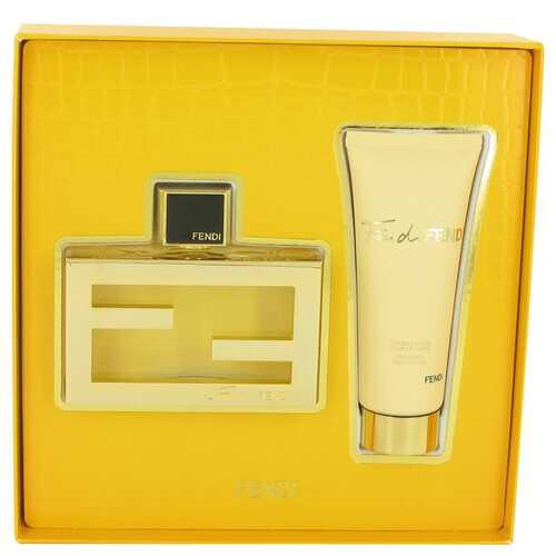 Fan Di Fendi by Fendi Gift Set -- 2.5 oz Eau De Parfum Spray + 2.5 oz Body Lotion (Women)