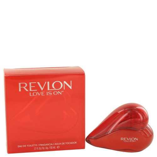 Love is On by Revlon Eau De Toilette Spray 1.7 oz (Women)
