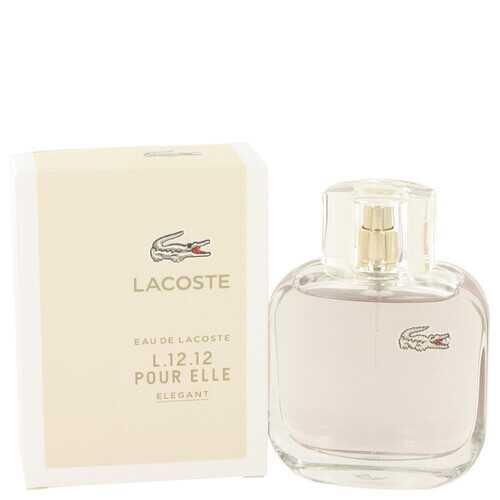 Lacoste Eau De Lacoste L.12.12 Elegant by Lacoste Eau De Toilette Spray 3 oz (Women)