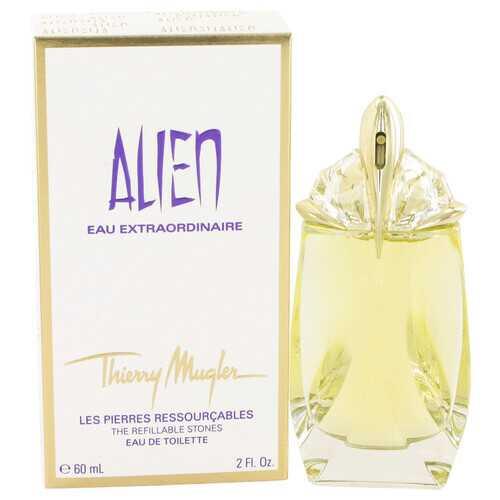 Alien Eau Extraordinaire by Thierry Mugler Eau De Toilette Spray Refillable 2 oz (Women)