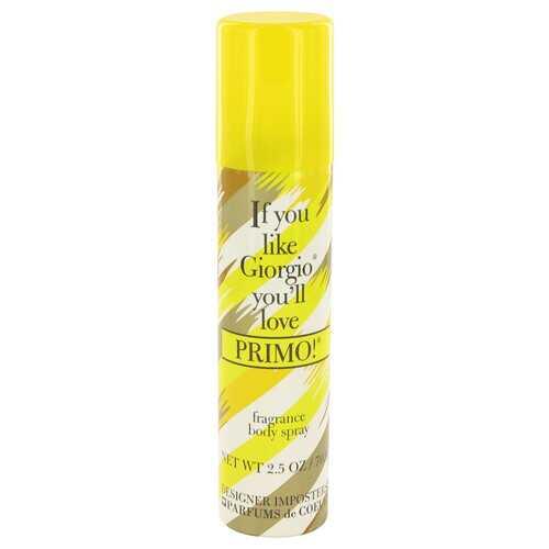 Designer Imposters Primo! by Parfums De Coeur Body Spray 2.5 oz (Women)