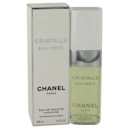 Cristalle Eau Verte by Chanel Eau De Toilette Concentree Spray 3.4 oz (Women)