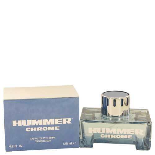 Hummer Chrome by Hummer Eau De Toilette Spray 4.2 oz (Men)