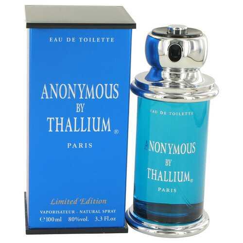 Thallium Anonymous by Yves De Sistelle Eau De Toilette Spray 3.3 oz (Men)