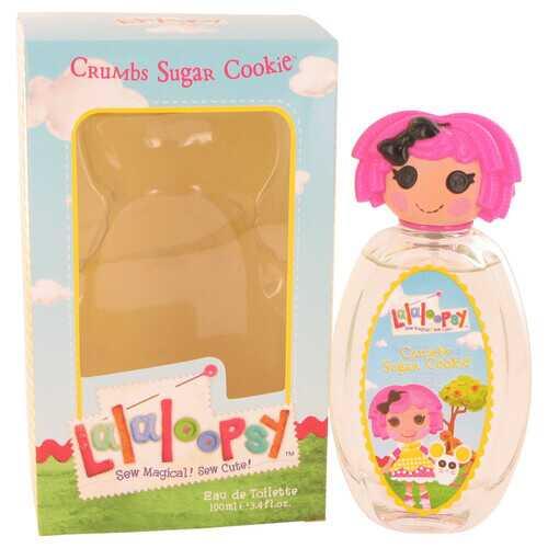Lalaloopsy by Marmol & Son Eau De Toilette Spray (Crumbs Sugar Cookie) 3.4 oz (Women)