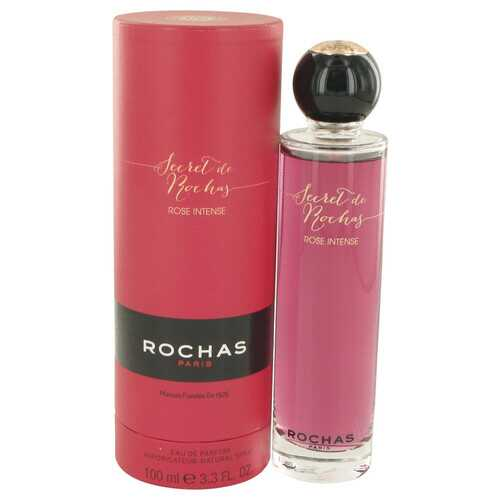 Secret De Rochas Rose Intense by Rochas Eau De Parfum Spray 3.3 oz (Women)