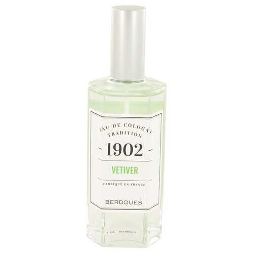 1902 Vetiver by Berdoues Eau De Cologne Spray (Unisex) 4.2 oz (Women)