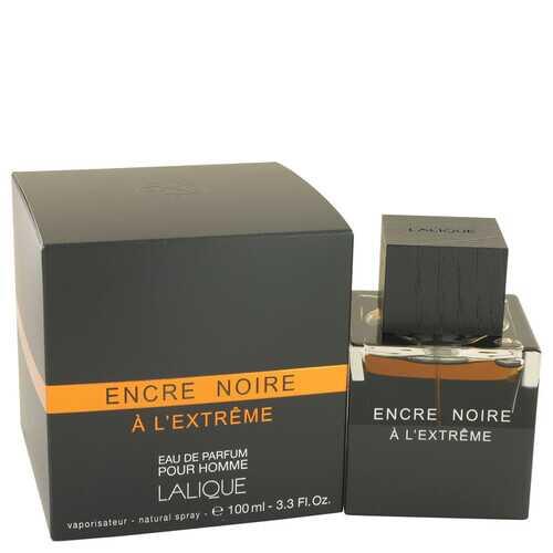 Encre Noire A L'extreme by Lalique Eau De Parfum Spray 3.3 oz (Men)
