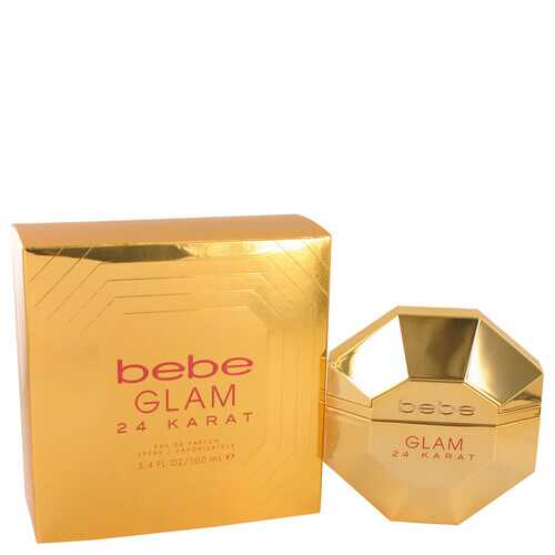 Bebe Glam 24 Karat by Bebe Eau De Parfum Spray 3.4 oz (Women)