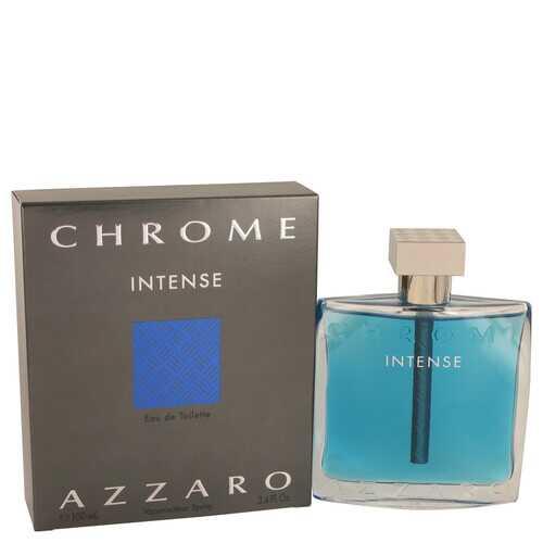 Chrome Intense by Azzaro Eau De Toilette Spray 3.4 oz (Men)