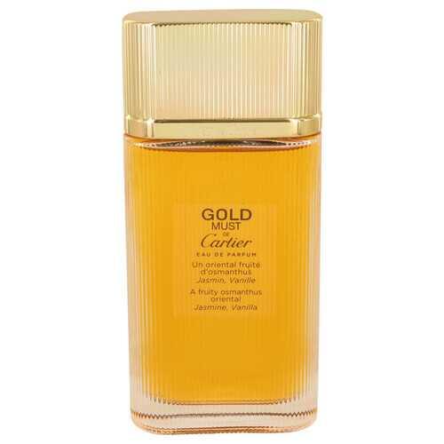Must De Cartier Gold by Cartier Eau De Parfum Spray (Tester) 3.3 oz (Women)