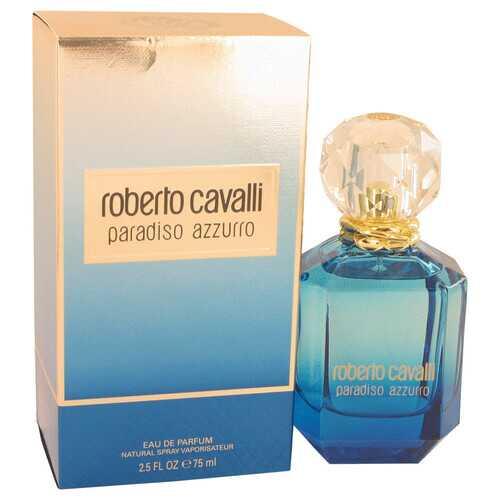 Roberto Cavalli Paradiso Azzurro by Roberto Cavalli Eau De Parfum Spray 2.5 oz (Women)