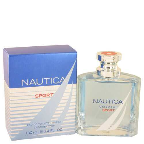 Nautica Voyage Sport by Nautica Eau De Toilette Spray 3.4 oz (Men)