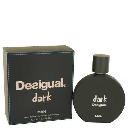 Desigual Dark by Desigual Eau De Toilette Spray 3.4 oz (Men)