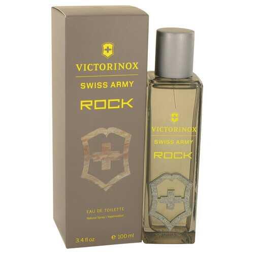 Swiss Army Rock by Victorinox Eau De Toilette Spray 3.4 oz (Men)