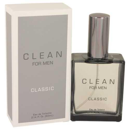Clean Men by Clean Eau De Toilette Spray 2.14 oz (Men)