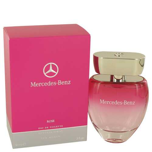 Mercedes Benz Rose by Mercedes Benz Eau De Toilette Spray 3 oz (Women)