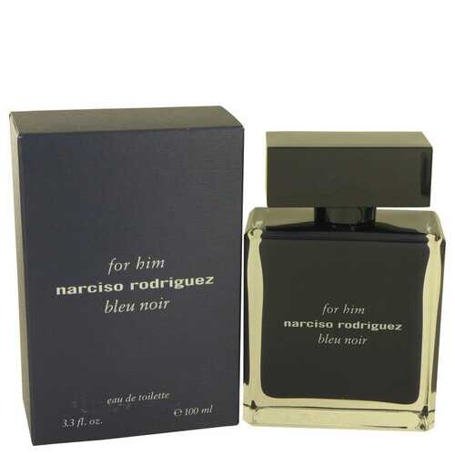 Narciso Rodriguez Bleu Noir by Narciso Rodriguez Eau De Toilette Spray 3.4 oz (Men)