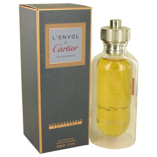 L'envol de Cartier by Cartier Eau De Parfum Spray Refillable 3.3 oz (Men)