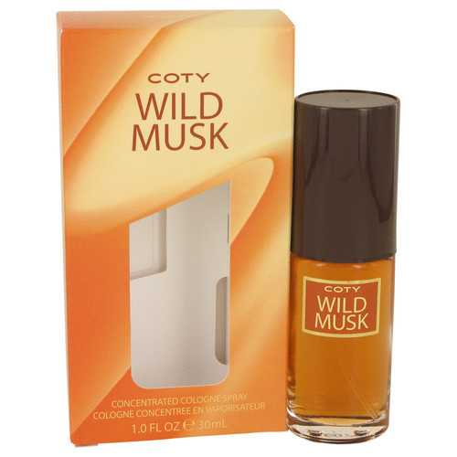 WILD MUSK by Coty Concentrate Cologne Spray 1 oz (Women)