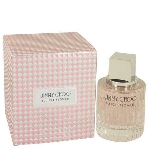 Jimmy Choo Illicit Flower by Jimmy Choo Eau De Toilette Spray 2 oz (Women)