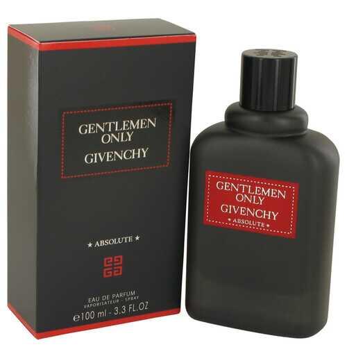 Gentlemen Only Absolute by Givenchy Eau De Parfum Spray 3.3 oz (Men)