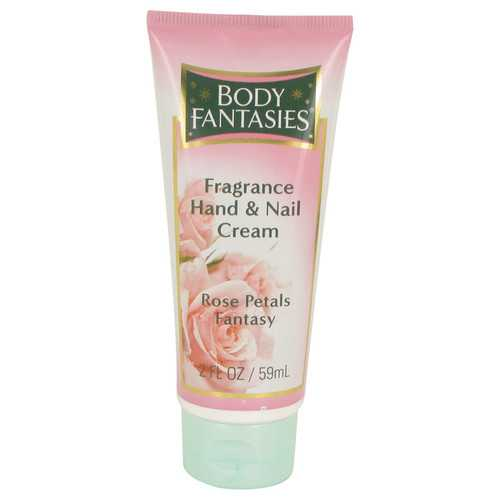 Body Fantasies Signature Rose Petals Fantasy by Parfums De Coeur Hand & Nail Cream 2 oz (Women)