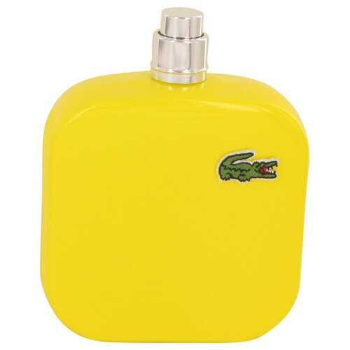 Lacoste Eau De Lacoste L.12.12 Jaune by Lacoste Eau De Toilette Spray (Tester) 3.3 oz (Men)