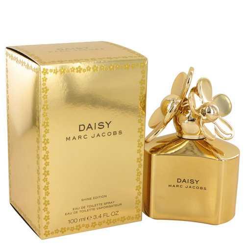 Daisy Shine Gold by Marc Jacobs Eau De Toilette Spray 3.4 oz (Women)