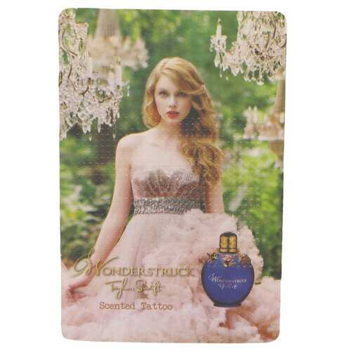 Wonderstruck by Taylor Swift Scented Tattoo 1 pc (Women)