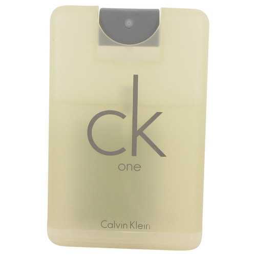 CK ONE by Calvin Klein Travel Eau De Toilette Spray (Unisex Unboxed) .68 oz (Men)