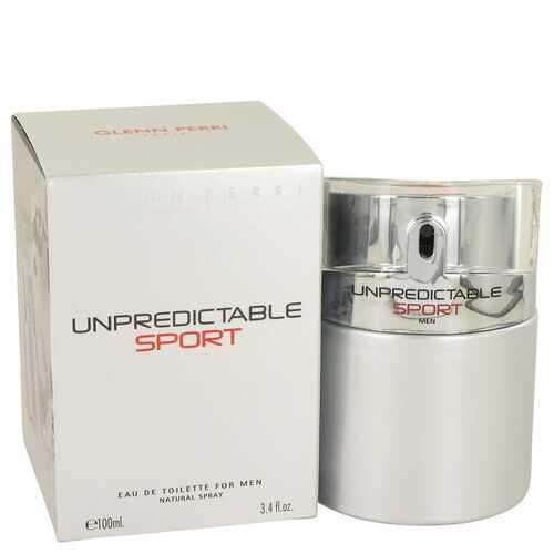Unpredictable Sport by Glenn Perri Eau De Toilette Spray 3.4 oz (Men)