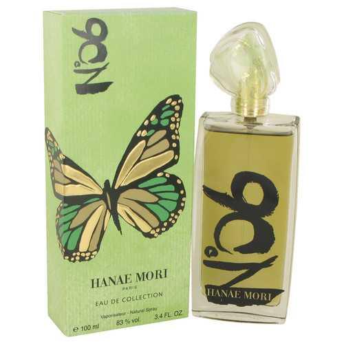 Hanae Mori Eau De Collection No 6 by Hanae Mori Eau De Toilette Spray 3.4 oz (Women)