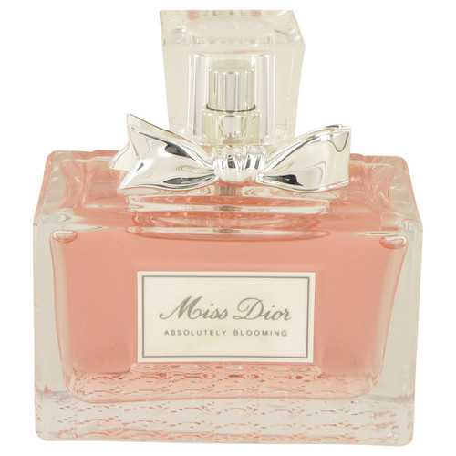 Miss Dior Absolutely Blooming by Christian Dior Eau De Parfum Spray (unboxed) 3.4 oz (Women)