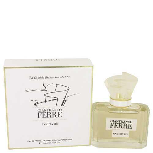 Gianfranco Ferre Camicia 113 by Gianfranco Ferre Eau De Parfum Spray 3.4 oz (Women)