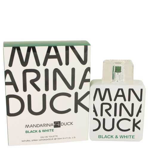 Mandarina Duck Black & White by Mandarina Duck Eau De Toilette Spray 3.4 oz (Men)