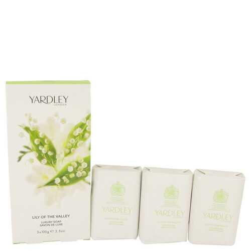 Lily of The Valley Yardley by Yardley London 3 x 3.5 oz Soap 3.5 oz (Women)