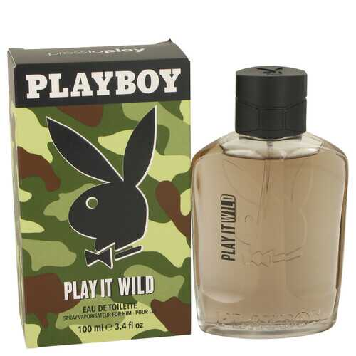 Playboy Play It Wild by Playboy Eau De Toilette Spray 3.4 oz (Men)