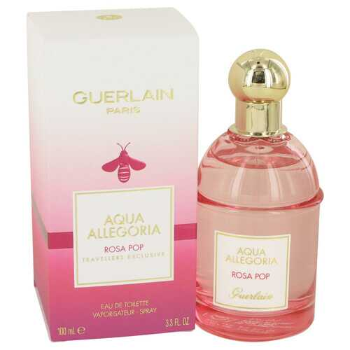 Aqua Allegoria Rosa Pop by Guerlain Eau De Toilette Spray 3.3 oz (Women)
