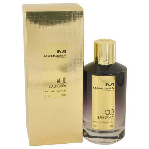 Mancera Aoud Black Candy by Mancera Eau De Parfum Spray (Unisex) 4 oz (Women)