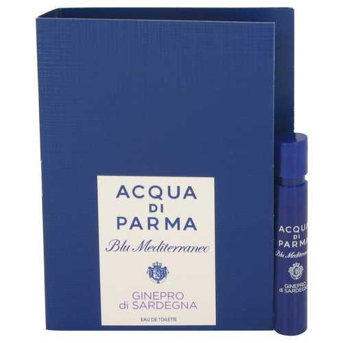 Blu Mediterraneo Ginepro di Sardegna by Acqua Di Parma Vial (sample) .04 oz (Women)